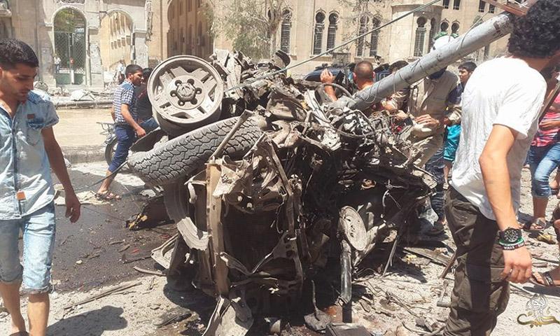 آثار القصف على حي الصالحين في حلب - الخميس 21 تموز (حلب اليوم)