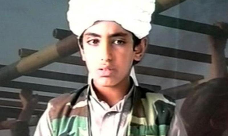 حمزة بن لادن وعمره 24 عامًا (صنداي تايمز)
