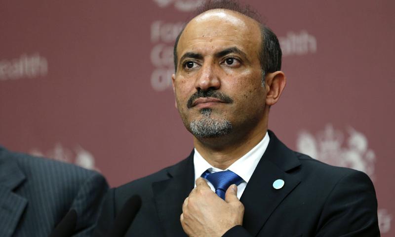 أحمد الجربا (وكالات)