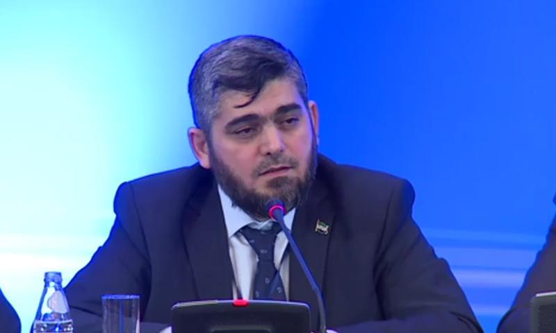"""رئيس وفد فصائل المعارضة إلى """"أستانة2"""" محمد علوش (فيديو)"""