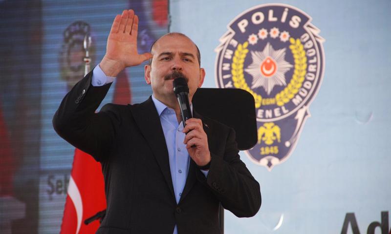 وزير الداخلية التركي، سليمان صويلو (إنترنت)
