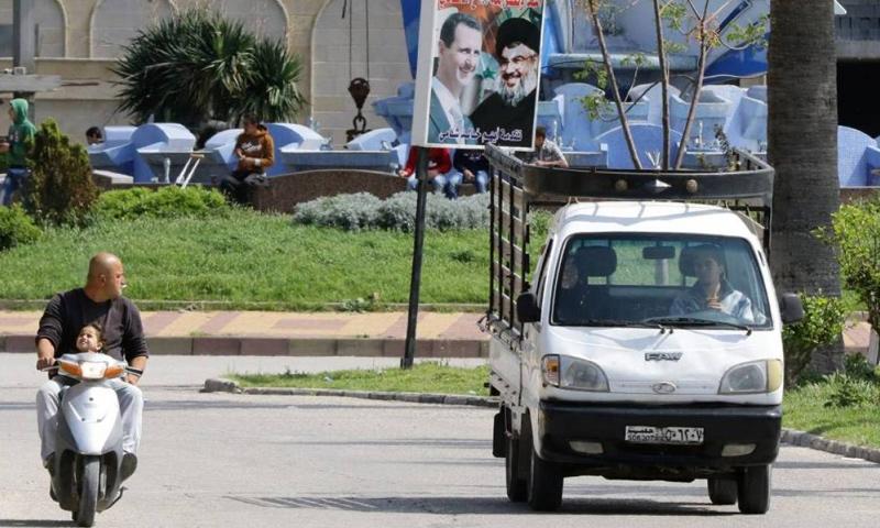 داخل مدينة اللاذقية في سوريا - (AFP)
