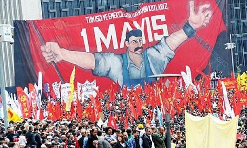 احتفال بعيد العمال في تركيا (انترنت)