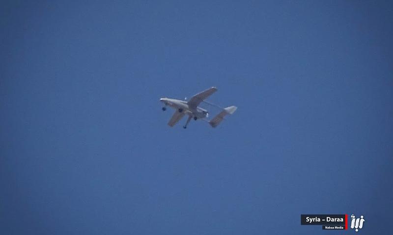 طائرة استطلاع في سماء درعا دخلت من الأردن- الأربعاء 14 حزيران (نبأ)