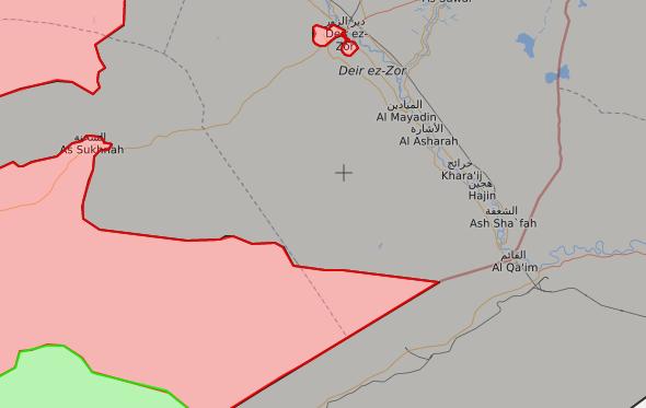 خريطة توضيحية لتقدم قوات الأسد في بادية حمص الشرقية – 21 آب 2017 – (LIVEMAP)