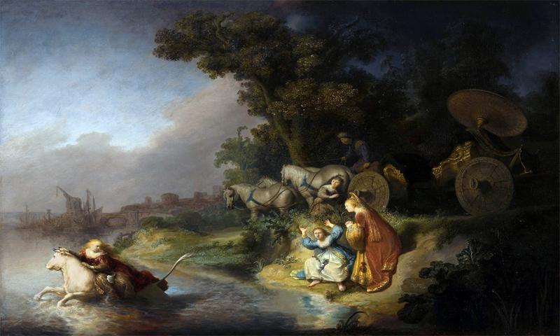 أسطورة أوروبا كما رسمها الفنان الهولندي رامبرانت - (eurocles)