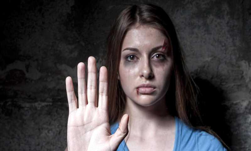حملة مناهضة للعنف ضد المرأة (إنترنت)