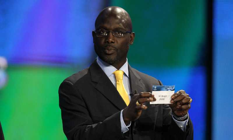 جورج ويا رئيس ليبيريا الجديد (goal.com)