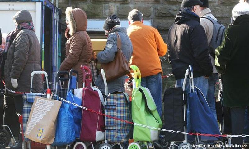 لاجئون في ألمانيا (DPA)