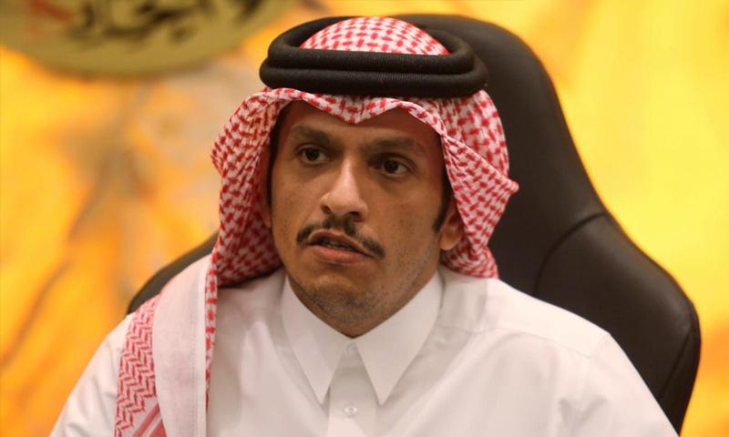 وزير الخارجية القطري، محمد بن عبد الرحمن آل ثاني (رويترز)