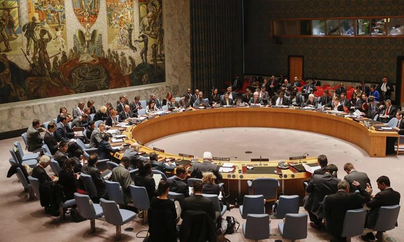 جلسة لمجلس الأمن الدولي - 2018 (رويترز)