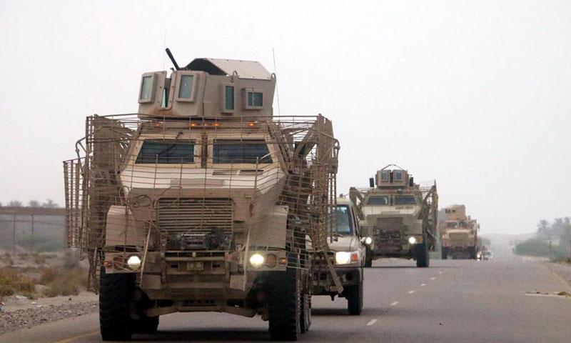 قوات التحالف الخليجي في اليمن 2016 (BBC)
