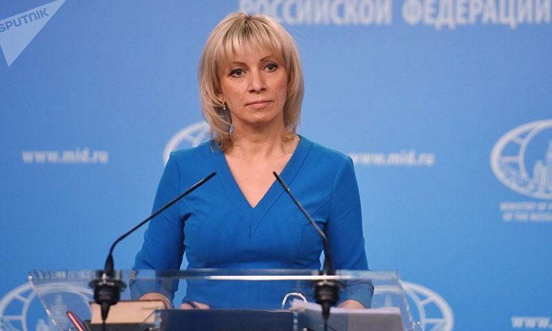 المتحدثة باسم الخارجية الروسية، ماريا زاخاروفا (سبوتنيك)