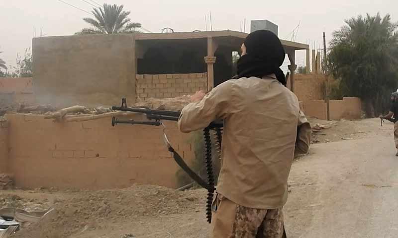 معارك بين تنظيم الدولة وقسد في بلدة السوسة شرقي دير الزور 10 تشرين الأول 2018 (أعماق)