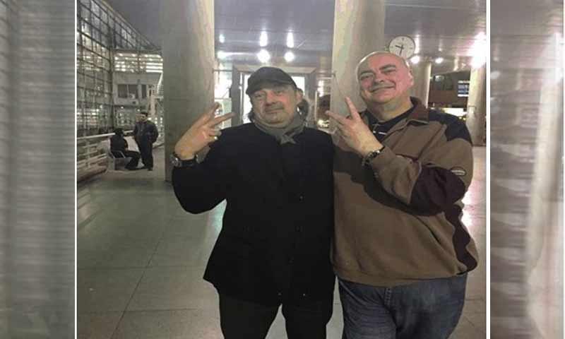 التاجر السوري محمد عامر الشويكي وجانبه الروسي أندري دوغاييف (موقع الخزانة الأمريكية )