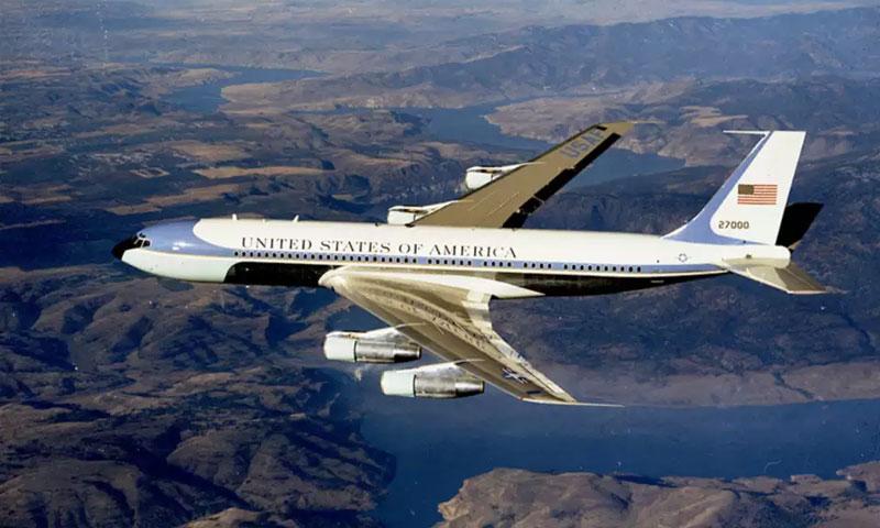 طائرة Boeing VC-137C الرئاسية الأمريكية (USAF)