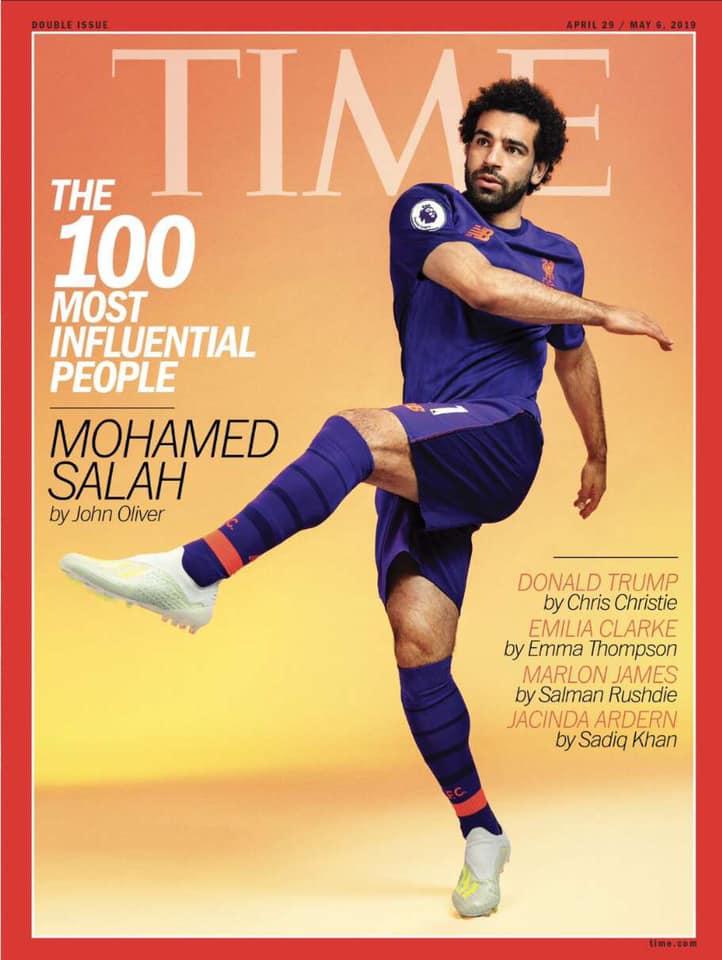 غلاف مجلة التايمز الأمريكية 18 نيسان 2019 (صفحة اللاعب على فيس بوك)