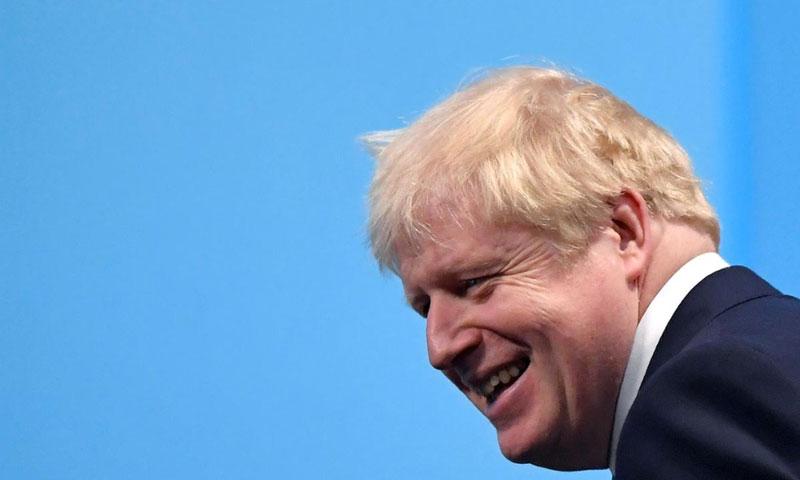 رئيس وزراء بريطانيا بوريس جونسون - 23 تموز 2019 (رويترز)