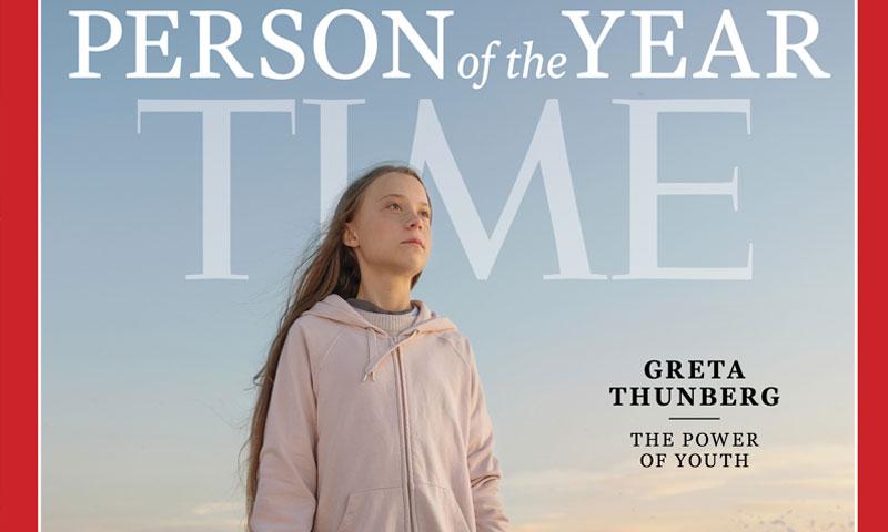 غلاف مجلة التايم 11 كانون الأول 2019 (التايم)