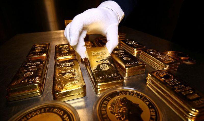 صورة تعبيرية للذهب (رويترز)