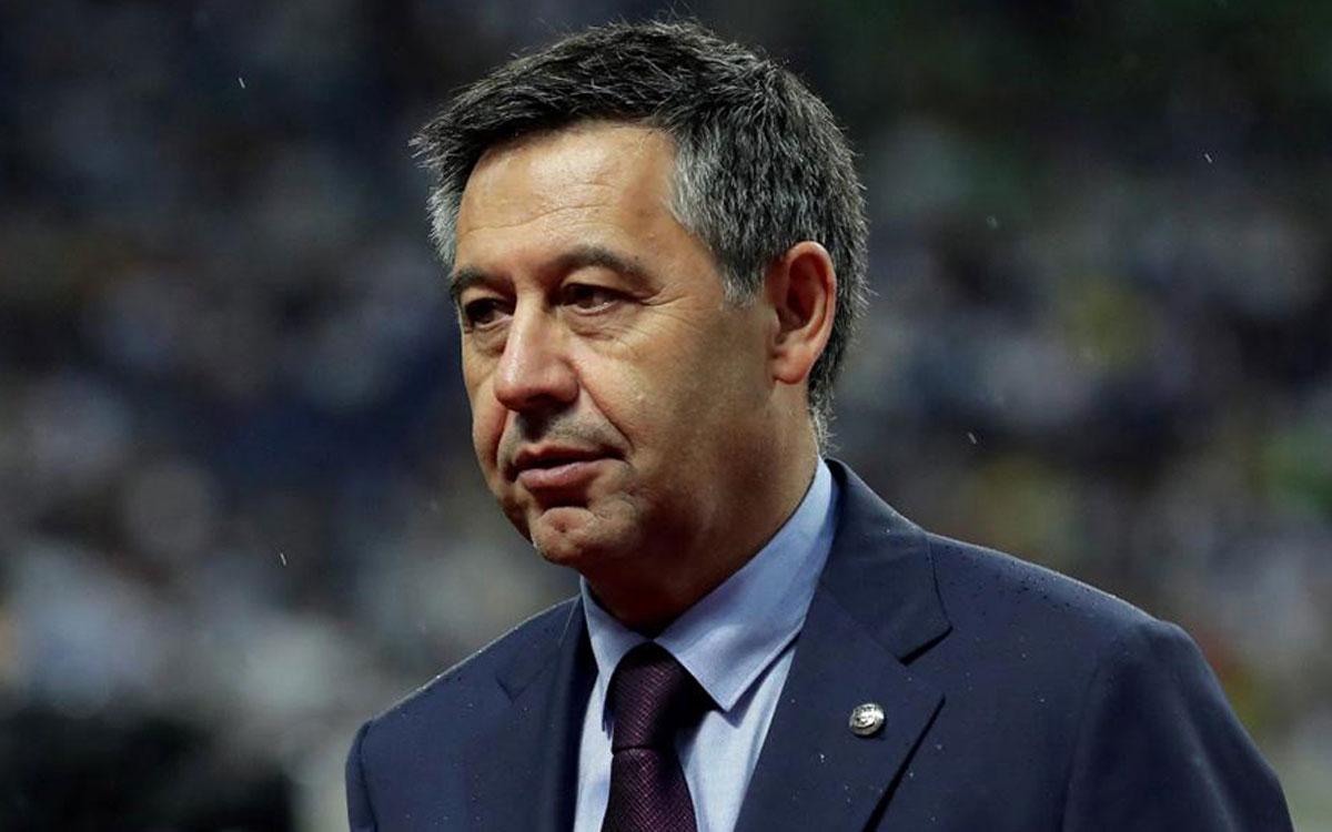 رئيس نادي برشلونة جوزيف بارتيميو (ماركا)