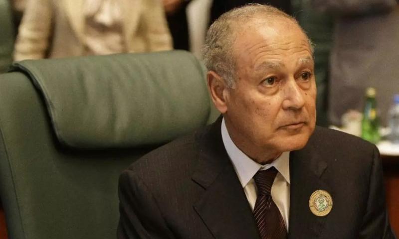 الأمين العام للجامعة العربية أحمد أبو الغيط (AFP)