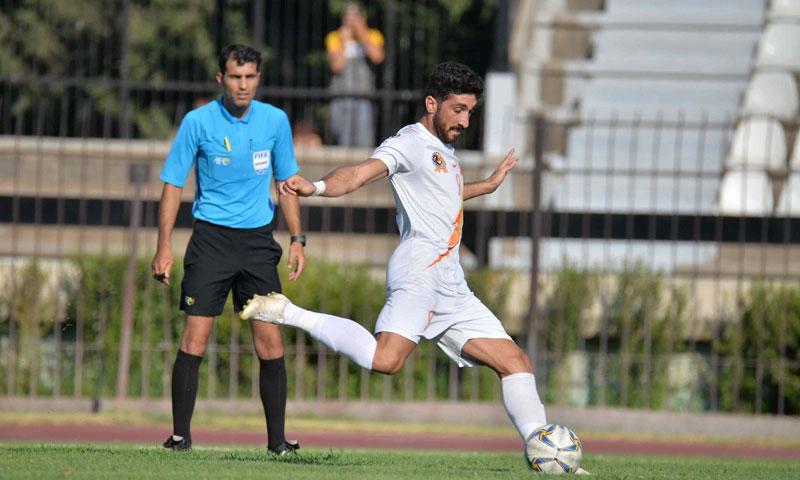 لقطة من نصف نهائي كأس الجمهورية 2019- 2020 (نادي الوحدة/ فيس بوك)