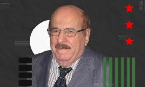 جريس الهامس المتوفي في 8 من تشرين الثاني لعام 2020- (تعديل عنب بلدي)