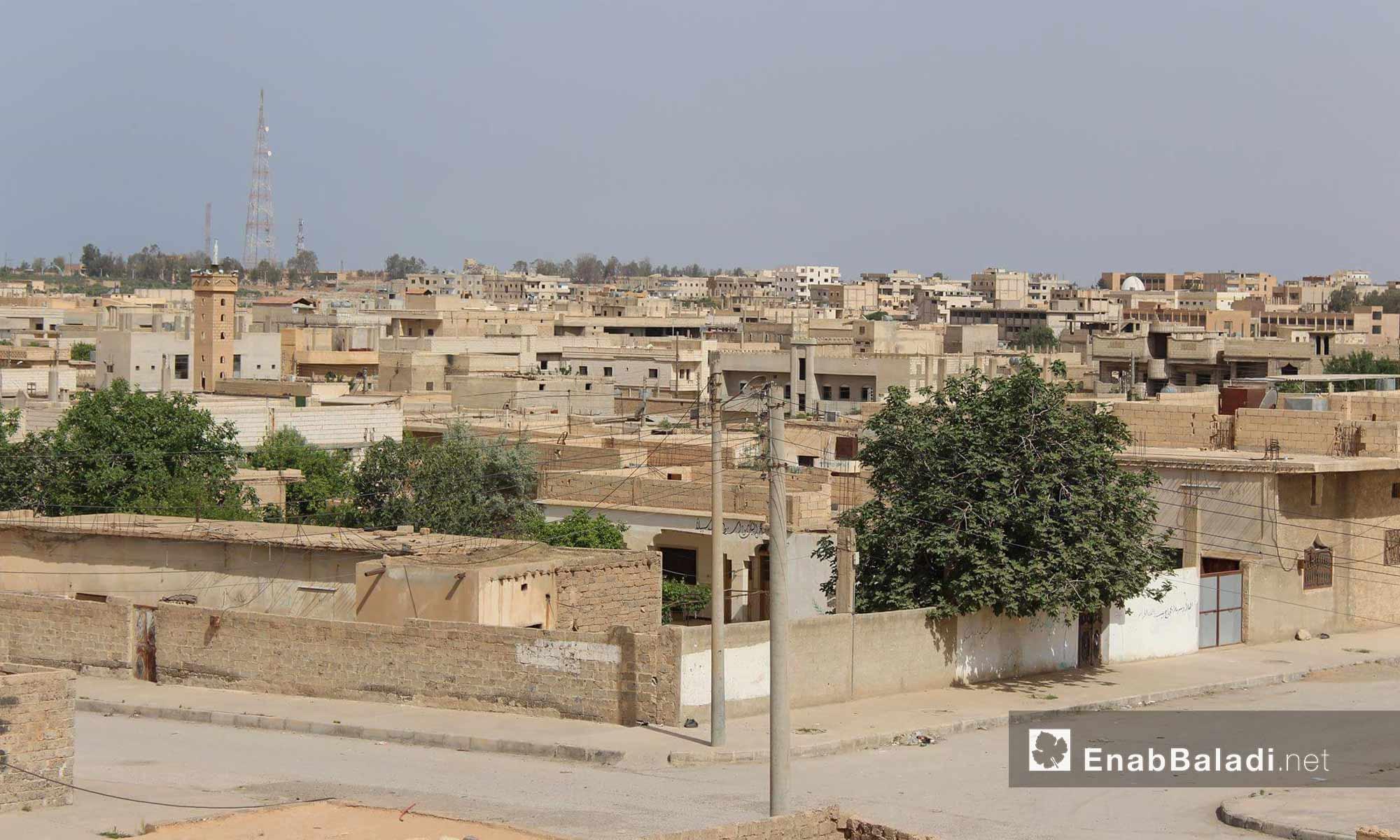 Al-Tabqa city in the western al-Raqqa countryside - 23 May 2017 (Enab Baladi)