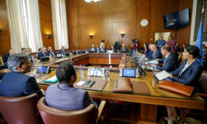 Of the work of the third round of talks of the Syrian Constitutional Committee (SCC) - 24 August 2020 Getty Images)