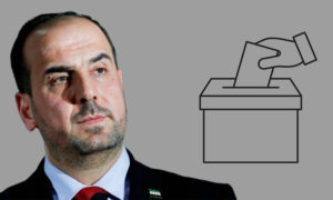 The head of the opposition Syrian National Coalition, Nasr al-Hariri, wants to run in the Syrian elections (Enab Baladi)