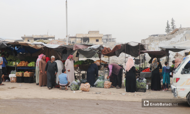 Commercial activity in al-Raqqa city - September 2020 (Enab Baladi - Abdul Aziz al-Saleh)
