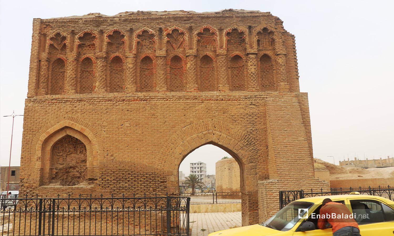 The ancient wall of al-Raqqa - September 2020 (Enab Baladi - Abdul Aziz al-Saleh)