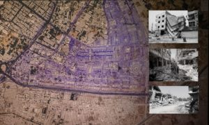 The regulatory plan of al-Qaboun neighborhood in Damascus - edited by Enab Baladi, 2020
