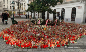Austrians mourn victims of terrorist attacks in several regions of Vienna- 11 November 2020 (Enab Baladi)